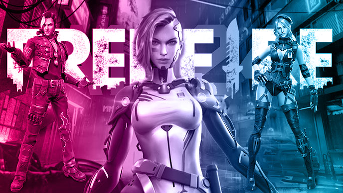 Free Fire: Three Top characters in the game.